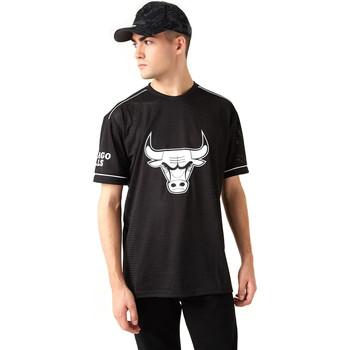 vaatteet Miehet Lyhythihainen t-paita New-Era 12720120 Musta