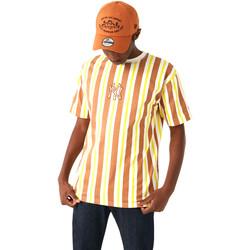 vaatteet Miehet Lyhythihainen t-paita New-Era 12720144 Ruskea