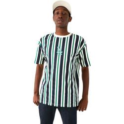 vaatteet Miehet Lyhythihainen t-paita New-Era 12720146 Sininen