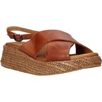 kengät Naiset Sandaalit ja avokkaat Sshady L2410 Ruskea