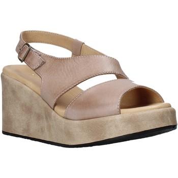 kengät Naiset Sandaalit ja avokkaat Sshady L2502 Ruskea