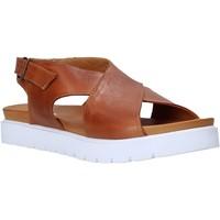 kengät Naiset Sandaalit ja avokkaat Sshady L2301 Ruskea