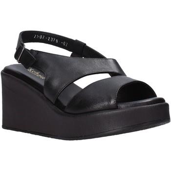 kengät Naiset Sandaalit ja avokkaat Sshady L2502 Musta