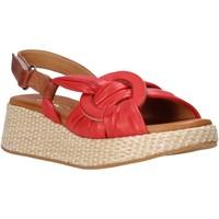 kengät Naiset Sandaalit ja avokkaat Sshady L2406 Punainen