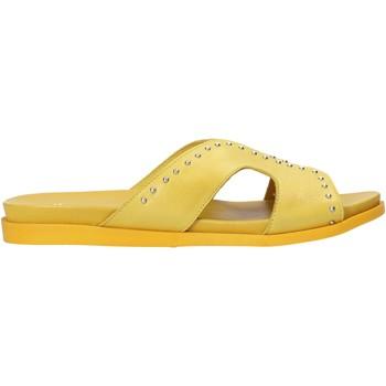 kengät Naiset Sandaalit Sshady MRT233 Keltainen