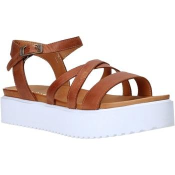 kengät Naiset Sandaalit ja avokkaat Sshady L2304 Ruskea