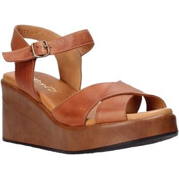 kengät Naiset Sandaalit ja avokkaat Sshady L2503 Ruskea