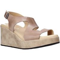 kengät Naiset Sandaalit ja avokkaat Sshady L2505 Ruskea