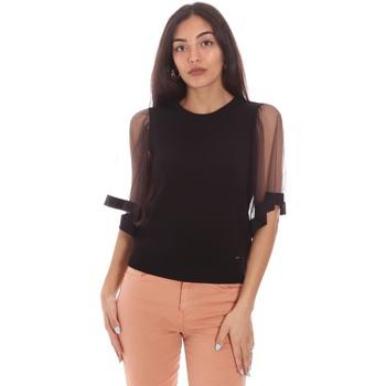 vaatteet Naiset Topit / Puserot Gaudi 111FD53002 Musta