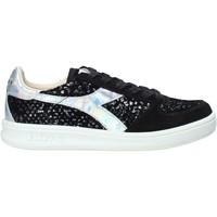 kengät Naiset Matalavartiset tennarit Diadora 201173883 Musta
