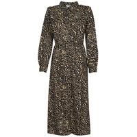vaatteet Naiset Pitkä mekko Only ONLRIVANA Monivärinen