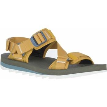 kengät Miehet Sandaalit ja avokkaat Merrell Alpine Strap Keltaiset