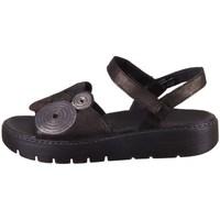 kengät Naiset Sandaalit ja avokkaat Think Sing Mustat, Ruskeat