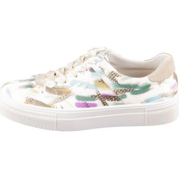 kengät Naiset Matalavartiset tennarit Legero Lima Valkoiset, Vihreät, Vaaleanpunaiset