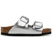 kengät Lapset Sandaalit Birkenstock Arizona Kids BF Hopeanväriset