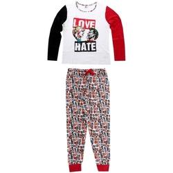 vaatteet Naiset pyjamat / yöpaidat Joker 833-438 Blanco