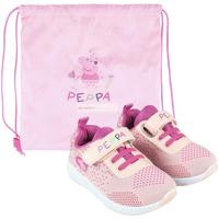 kengät Tytöt Matalavartiset tennarit Peppa Pig 2300004618 Rosa