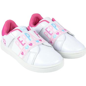 kengät Tytöt Matalavartiset tennarit Peppa Pig 2300004407 Blanco