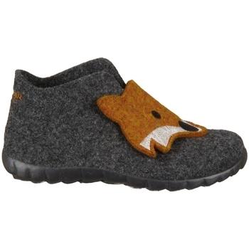 kengät Lapset Tossut Superfit Happy Lavagna Kombi Wollfilz Grafiitin väriset