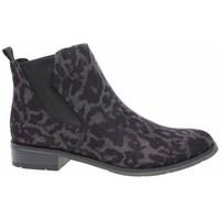 kengät Naiset Korkeavartiset tennarit Marco Tozzi 222532133241 Mustat, Ruskeat