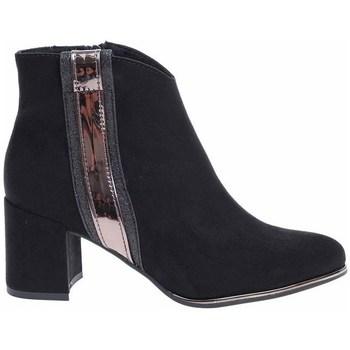 kengät Naiset Nilkkurit Marco Tozzi 222503931098 Mustat