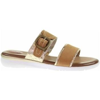 kengät Naiset Sandaalit Jana 882710726339 Ruskeat