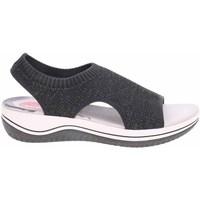 kengät Naiset Sandaalit ja avokkaat Jana 882872836001 Grafiitin väriset