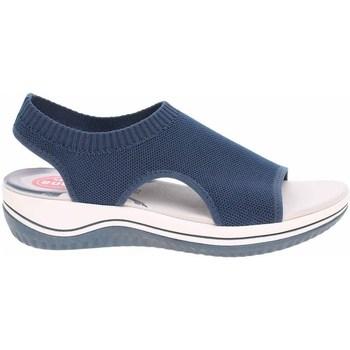 kengät Naiset Sandaalit ja avokkaat Jana 882872836810 Tummansininen