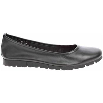 kengät Naiset Balleriinat Jana 882211926001 Mustat