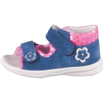 kengät Tytöt Sandaalit ja avokkaat Superfit Polly Tummansininen
