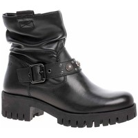 kengät Naiset Nilkkurit S.Oliver 552540221001 Mustat