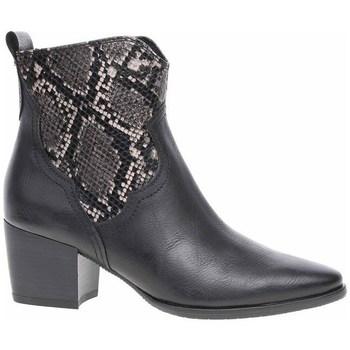 kengät Naiset Nilkkurit Marco Tozzi 222535323096 Mustat, Grafiitin väriset