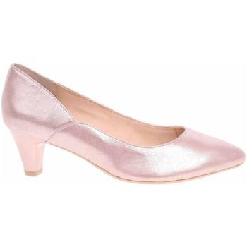 kengät Naiset Korkokengät Caprice 992240124510 Vaaleanpunaiset