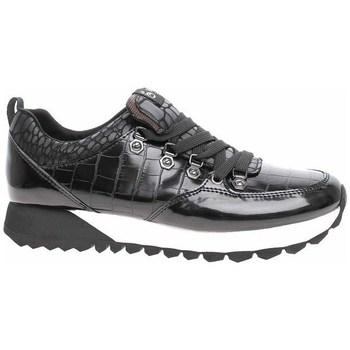 kengät Naiset Matalavartiset tennarit S.Oliver 552362235056 Mustat