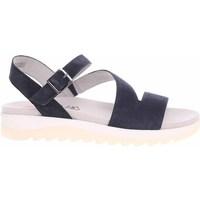 kengät Naiset Sandaalit ja avokkaat Jana 882860026805 Mustat