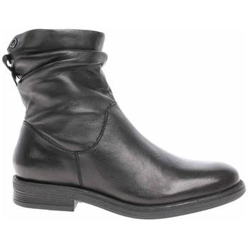 kengät Naiset Bootsit S.Oliver 552535725001 Mustat