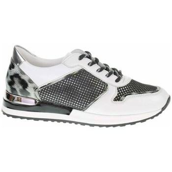 kengät Naiset Matalavartiset tennarit Remonte Dorndorf R251281 Valkoiset, Mustat