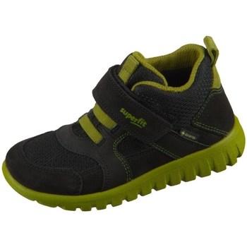 kengät Lapset Korkeavartiset tennarit Superfit SPORT7 Mini Mustat, Oliivinväriset