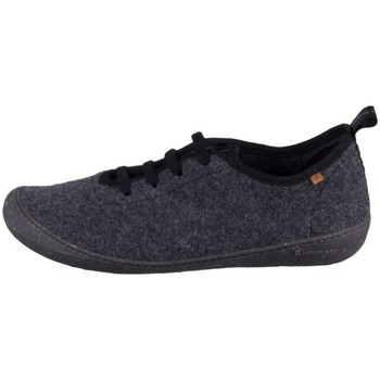 kengät Miehet Tossut El Naturalista Wool Home Harmaat
