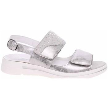 kengät Naiset Sandaalit ja avokkaat Waldläufer 922002210347 Hopeanväriset