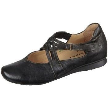 kengät Naiset Matalavartiset tennarit Think Chilli Mustat