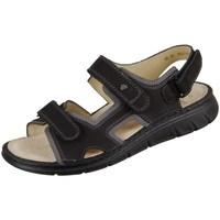 kengät Miehet Sandaalit ja avokkaat Finn Comfort Wanaka Mustat