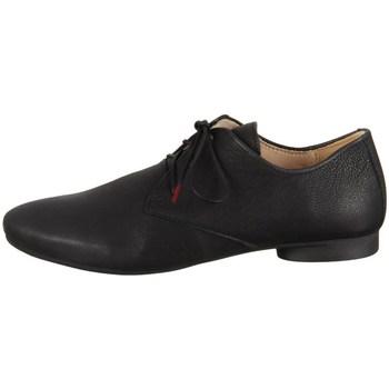 kengät Naiset Matalavartiset tennarit Think Guad Texano Calf Veg Mustat