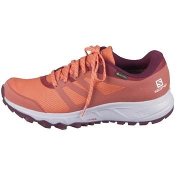 kengät Naiset Matalavartiset tennarit Salomon Trailster 2 Gtx W Oranssin väriset