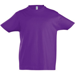 vaatteet Lapset Lyhythihainen t-paita Sols 11770 Dark Purple