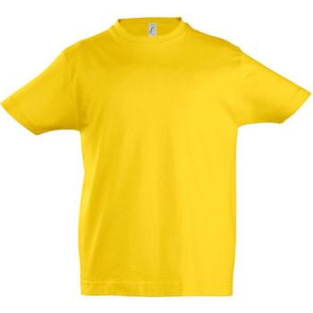 vaatteet Lapset Lyhythihainen t-paita Sols 11770 Gold