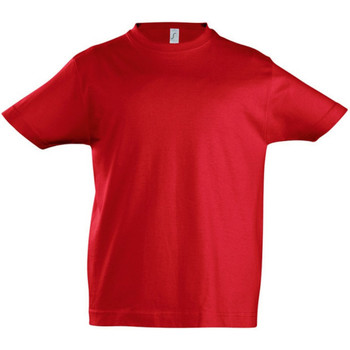 vaatteet Lapset Lyhythihainen t-paita Sols 11770 Red