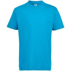 vaatteet Lapset Lyhythihainen t-paita Sols 11770 Aqua