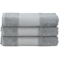 Koti Pyyhkeet ja pesukintaat A&r Towels 50 cm x 100 cm Anthracite Grey