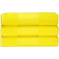 Koti Pyyhkeet ja pesukintaat A&r Towels 50 cm x 100 cm Bright Yellow